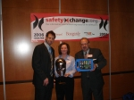 "Think Safe won a SAXCIES award for ""Best New Safety Product"" for the Emergency Instruction Device (EID) invention"