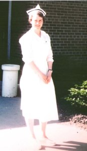 Jean Ross during her nursing years at Marion Independent School District